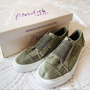 "Blowfish ""Maura"" Slip-On Cool Canvas Sneakers"